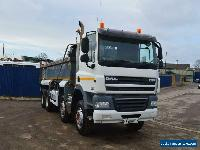 DAF TRUCKS CF 400 8X4 STEEL BODY TIPPER, MANUAL GEARBOX  for Sale
