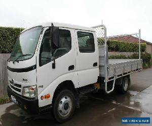 Hino 300 wide/2 Crew Cab Tray for Sale