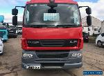 Daf 55 skip truck telescopic  arms extra reach lorry Hyva euro 5 for Sale
