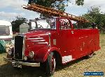 Vintage Fire Engine, 1941 Dennis Light 4 New World Body with History, 11,023 mls for Sale