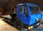 Man 8.163 hiab 7.5ton for Sale