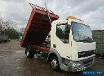 DAF LF 45 TIPPER TRUCK LORRY TIPPING DROPSIDE STEEL BODY 2006 for Sale
