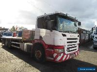 Scania P-Series 340 6x4 Flatbed (crane has been removed) for Sale