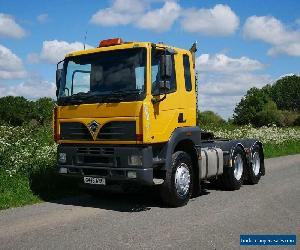 FODEN ALPHA 3000 410 6 X 4 Double Drive Tractor Unit  for Sale