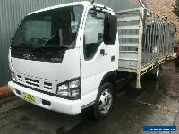 2007 Isuzu NPR 400 Table top truck with cage for Sale