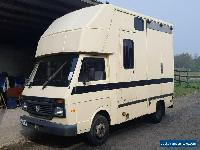 Volkswagen LT50 5t Coachbuilt Horsebox - Excellent condition 74k miles, long MOT for Sale