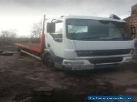 Daf 45 lf 2004, 12 ton flatbed mot dec 2019 for Sale