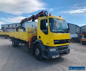 DAF TRUCKS LF55.220 Dropside With Crain  for Sale