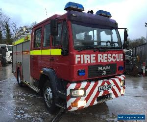 MAN/ ERF M2000 Fire engine truck for Sale