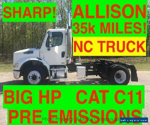 2006 Freightliner DAYCAB JUST 35k MILES ONE OWNER NC TRUCK PRE-EMISSION CAT C11 BIG HP ALLISON AUTO for Sale