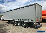 Curtainsider Trailer Flat trailer 4.2 for Sale