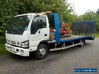 Isuzu NQR 7.5t recovery beavertail truck lorry, Very tidy condition, winch for Sale