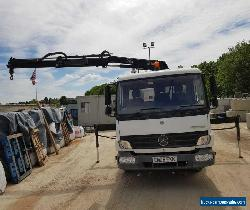 Mercedes Atego 4 Wheeler Tipper/Crane Lorry 7.5 Tonne for Sale