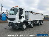 2012 Renault Premium Lander 380DXI 8X4 32Ton Insulated Tar Tipper + Cover Euro 5 for Sale