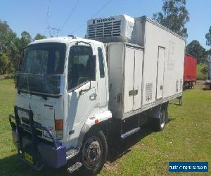 Mitsubishi 2006 FK7 Fighter Refridgerated Pantech Truck. 12T GVM for Sale
