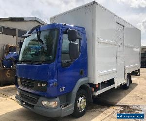 2008 '08' DAF LF45.140 LF 7.5ton BOX Tail lift Manual gearbox for Sale