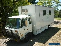 EX - FILM INDUSTRY  PRODUCTION OFFICE / MAKE-UP / WARDROBE TRUCK  WITH  TOILET. for Sale