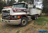 Mack Tipper Truck CH Fleetliner Truck and Dog Gorski LIKE KENWORTH WESTERN STAR for Sale
