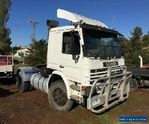 1988 scania truck 2 axle prime mover sold as is no rwc no rego  for Sale