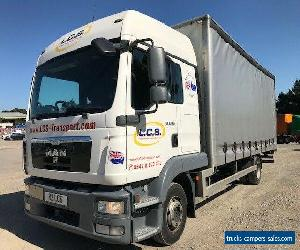 2012 MAN 7.5t Sleeper Cab, Curtain Sider Truck for Sale