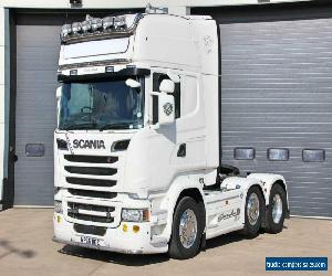 Scania (2015) R520 V8 (Euro 6) 6X2 T/Unit. Twin Sleeper Topline Streamline Cab for Sale