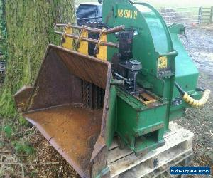 "NHS 960i crane fed 12"" chipper wood chipper woodchipper  for Sale"