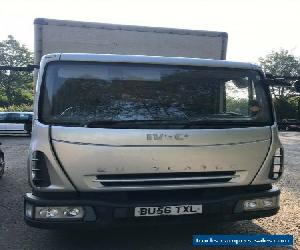 IVECO EUROCARGO BOX Body 7.5 Ton, Taillift MOTd 2007 for Sale