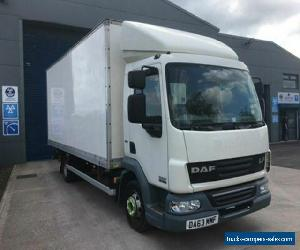 2013 63 DAF TRUCKS LF LF 45.160 20FT 7.5 TONNE BOX WITH TUCK UNDER TAIL LIFT for Sale