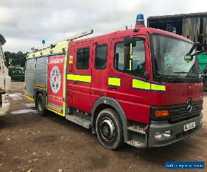 Mercedes-Benz Atego COMPLETE FIRE ENGINE TRUCK for Sale