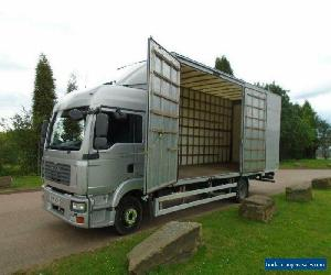 2008 (58) MAN TGL 10.210 12 Ton Double Sleeper Furniture Removals Box for Sale