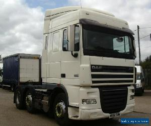 DAF XF105.460  Space Cab  Tractor Unit for Sale