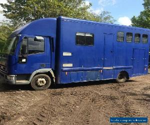 Iveco NEW CARGO 7.5t Horsebox 2001 Y for Sale