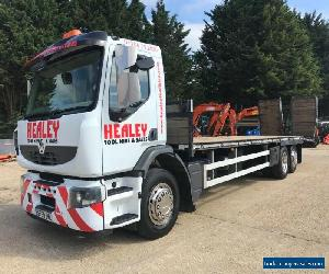 Renault Premium Beavertail 6x2 Rear Lift Plant Access Lorry Truck Low loader  for Sale