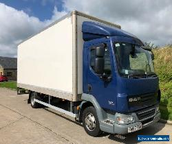 DAF LF 7.5t. 22ft Box with tail lift. Very low miles 12 months MOT ** NO VAT** for Sale