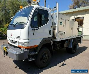 2007 Mitsubishi Fuso Canter FG649 (4x4) 5sp M Service Body for Sale