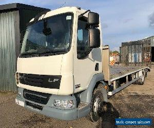 2011 61 REG 12 TONNE 4X2 DAF LF45 FLATBED BEAVERTAIL RECOVERY VEHICLE for Sale
