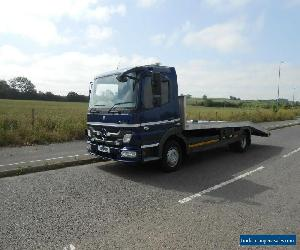 MERCEDES ATEGO 816 RECOVERY/CAR TRANSPORTER TRUCK 7.5 TONNE 2012 62 REG  for Sale