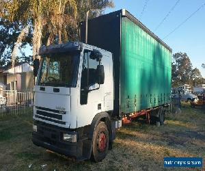 Iveco 2002 eurocargo Tector curtain sider tautliner truck for Sale