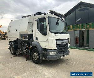 2015 DAF LF220 FA Johnston Dual Sweep Road Sweeper Euro 6 for Sale