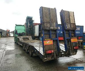 2006 King GTS 44 low loader trailer step frame ramps out riggers Flip Toe ramps for Sale