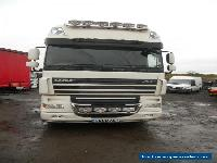 DAF XF105.460 AUTO 2009 6x2 TWIN BUNKS TIPPING GEAR SLIDER JULY20 MOT VERY TIDY for Sale
