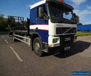 2001, Volvo FM250 18ton Gross Fitted With 27ft Beavertail Body. for Sale