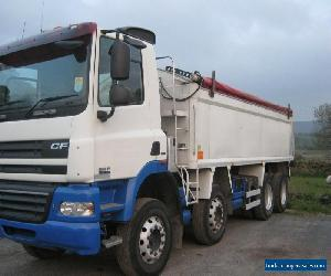 DAF CF85 410 8X4 INSULATED TIPPER for Sale
