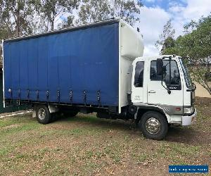 Hino, 1996 curtained sided truck for Sale