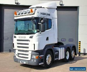 Scania (2008) R480 6X2 T/Unit. Twin Sleeper Highline Cab. 3 Pedal Opticruise for Sale