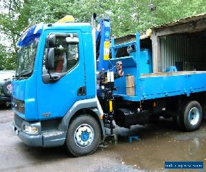 DAF TRUCK LF 45.170 12TON TIPPER LORRY.& CRANE for Sale