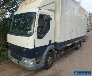 2004 daf box lorry lf45.180 6 cylinder glass lorry for Sale