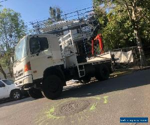 Crane truck, Hino FT, 4x4   for Sale