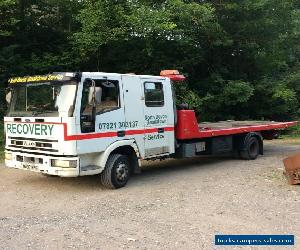 Iveco tilt and slide crew cab recovery truck 10t for Sale