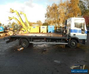 IVECO 75E15 7.5 TONNE BEAVER TAIL LORRY for Sale